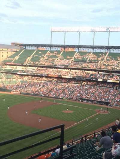 Oriole Park at Camden Yards section 370