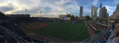 BB&T Ballpark (Charlotte) section Deck