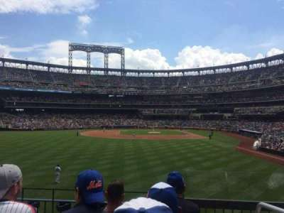 Citi Field, section: 135, row: 3, seat: 1