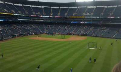 Turner Field section pavilion section
