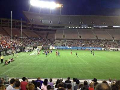 Camping World Stadium, section: 113, row: T, seat: 8
