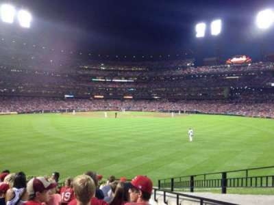 Busch Stadium, section: 501, row: 12, seat: 17