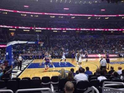 Amway Center, section: 116, row: 4, seat: 1