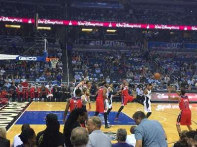 Amway Center, section: 116, row: D, seat: 1