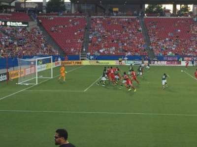 Toyota Stadium, section: 123, row: 9, seat: 24