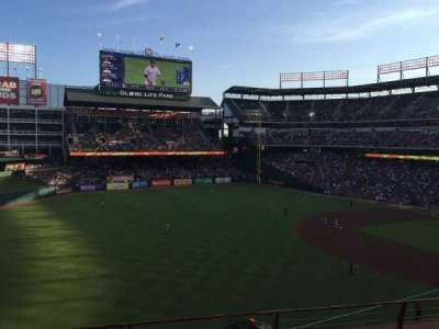 Globe Life Park in Arlington section 213