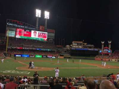Great American Ball Park, section: 25, row: G, seat: 12