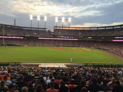 Comerica Park, section: 149, row: LL, seat: 12