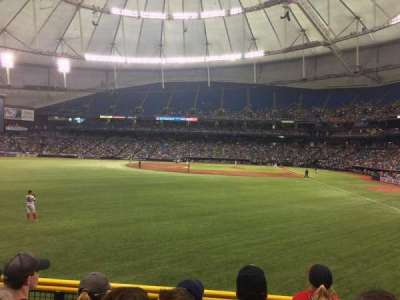 Tropicana Field, section: 141, row: W, seat: 5