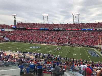 TIAA Bank Field, section: 206, row: G, seat: 10