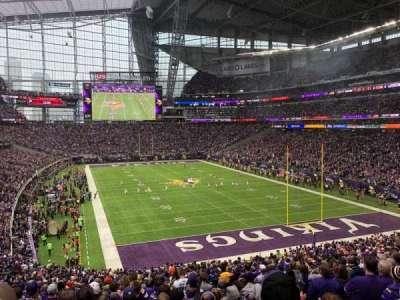 U.S. Bank Stadium, section: 122, row: 37, seat: 5