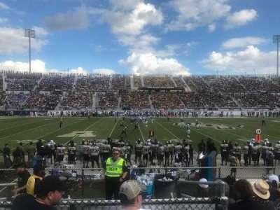 Spectrum Stadium, section: 111, row: 7, seat: 17