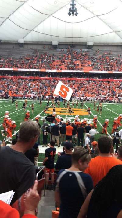 Carrier Dome section 101