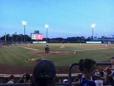 Baseball Grounds of Jacksonville, section: 108, row: G, seat: 8