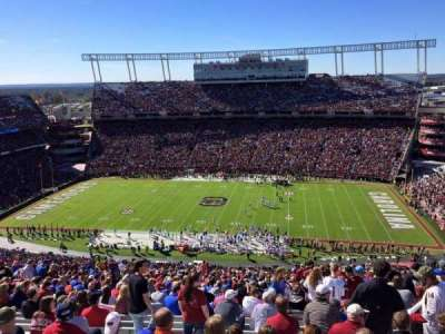 Williams-Brice Stadium, section: 504, row: 40, seat: 7
