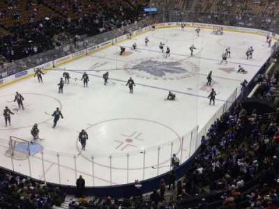 Air Canada Centre, section: 301, row: 1, seat: 15