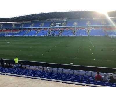Madejski Stadium, section: Y20, row: Q, seat: 89