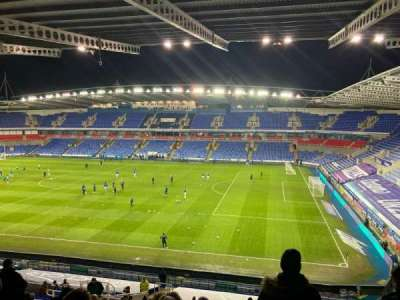 Madejski Stadium, section: Y19, row: JJ, seat: 65
