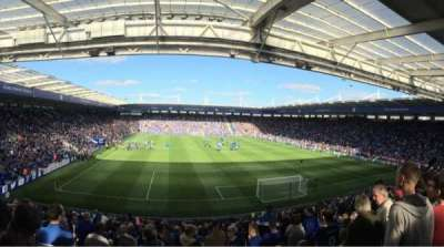 King Power Stadium, section: Sk3, row: FF, seat: 97