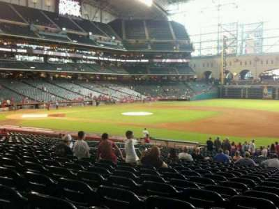 Minute Maid Park, section: 127, row: 29, seat: 18