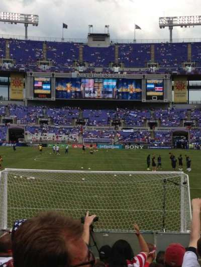 M&t Bank Stadium, section: 140, row: 9, seat: A10