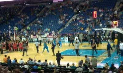 Smoothie King Center, section: 122, row: 20, seat: 12