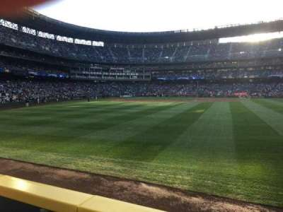 Safeco Field, section: 107, row: 23, seat: 3