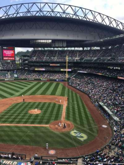 Safeco Field, section: 334, row: 4, seat: 4
