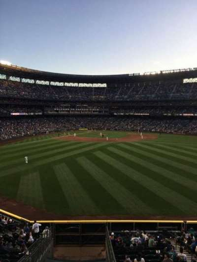 Safeco Field, section: 195, row: 2, seat: 1