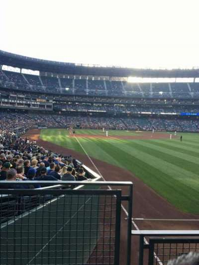 Safeco Field, section: 110, row: 24, seat: 6
