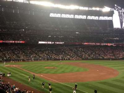 Safeco Field, section: 215, row: 2, seat: 1