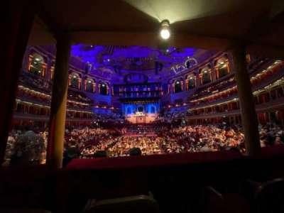 Royal Albert Hall, section: Loggia 19, seat: 5-8
