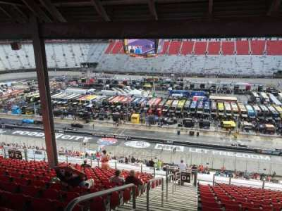 Bristol Motor Speedway section Allison Terrace