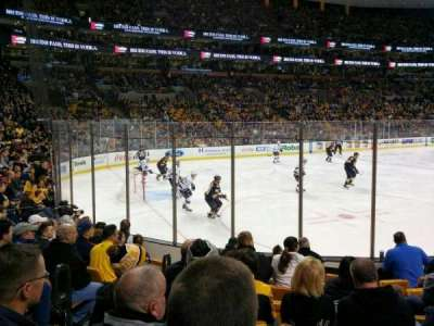 TD Garden section Loge 4