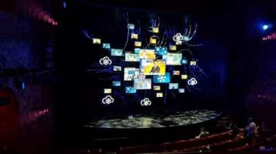 August Wilson Theatre section Mezzanine L