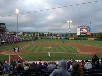 Hammons Field, section: E, row: 22, seat: 23