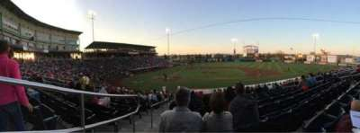 Hammons Field, section: F, row: 22, seat: 1