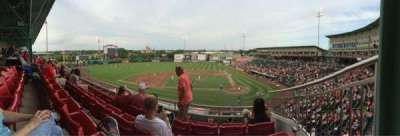 Hammons Field, section: AA, row: 4, seat: 3