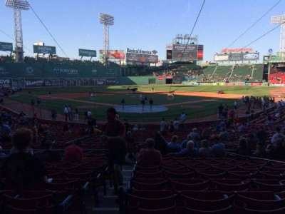 Fenway Park section Loge Box 130