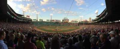 Fenway Park, section: Loge Box 130, row: LL, seat: 6