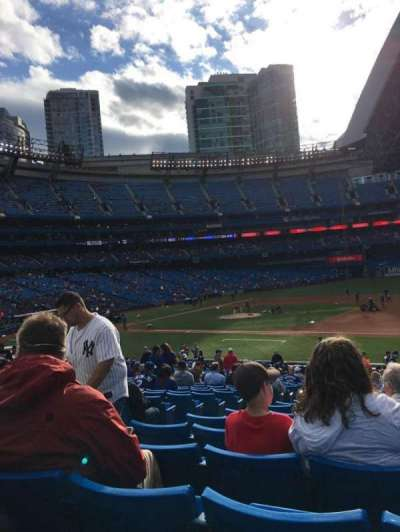 Rogers Centre, section: 115R, row: 32, seat: 5