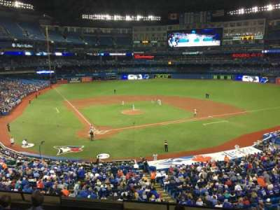 Rogers Centre, section: 222L, row: 6, seat: 105