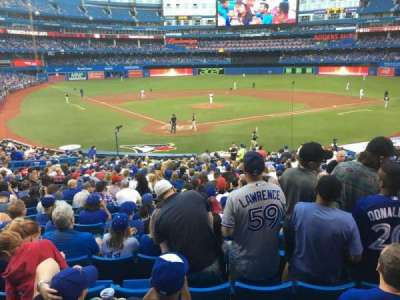 Rogers Centre, section: 120L, row: 30, seat: 108