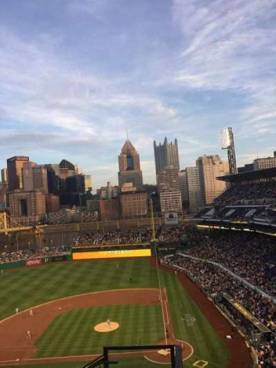 PNC Park, section: 321, row: J