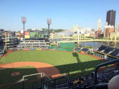 PNC Park, section: 311, row: O