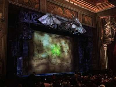 Hollywood Pantages Theatre, section: OrchL, row: W, seat: 11