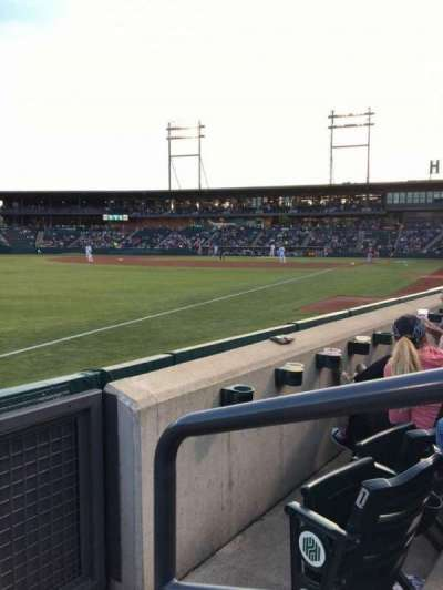 Huntington Park, section: 23, row: 2, seat: 1