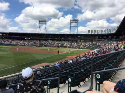 Huntington Park, section: 23, row: 14, seat: 4