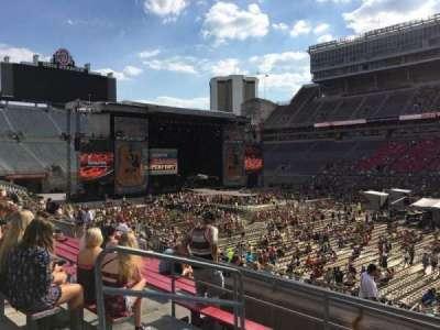 Ohio Stadium, section: 16A, row: 12, seat: 24