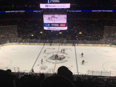 Nationwide Arena, section: 203, row: J